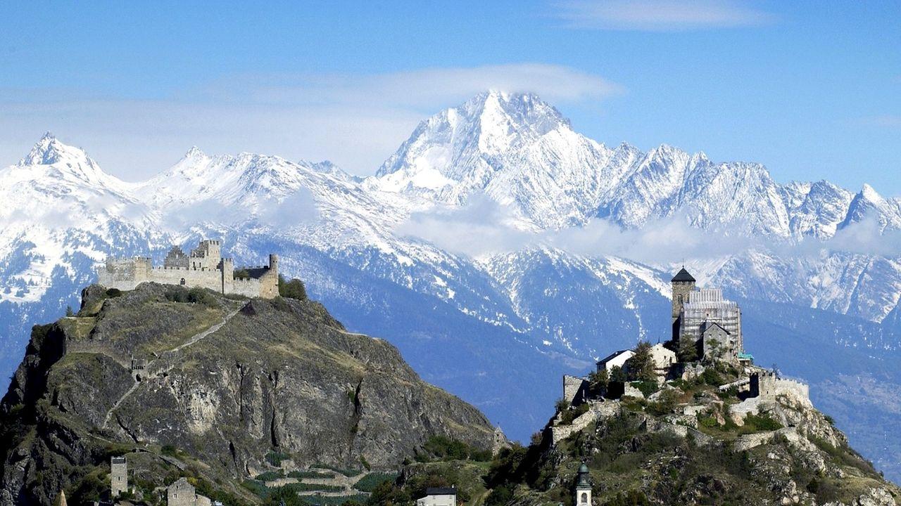 La qualité de l'air s'améliore en Valais. [Olivier Maire - Keystone]