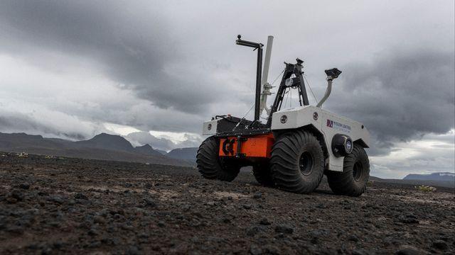 La NASA explore Mars ...en Islande. [Halldor Kolbeins - afp]