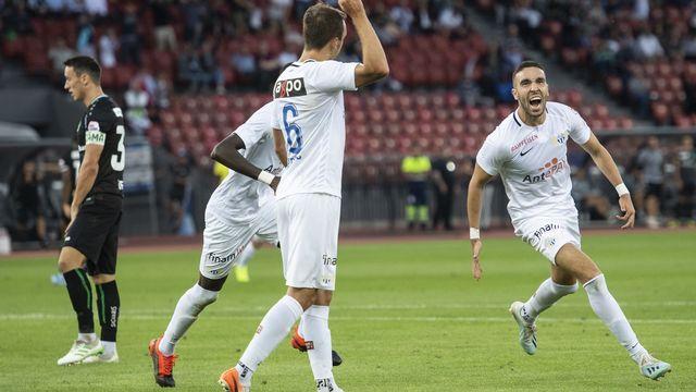 Mimoun Mahi peut exulter. Il a réussi une grosse performance pour permettre au FCZ d'engranger sa première victoire de la saison.