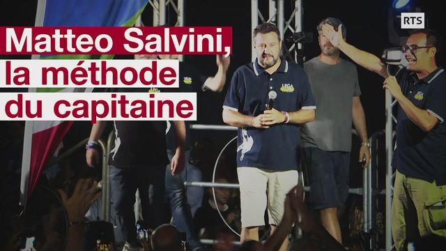 Matteo Salvini: décryptage de la méthode du capitaine [RTS]
