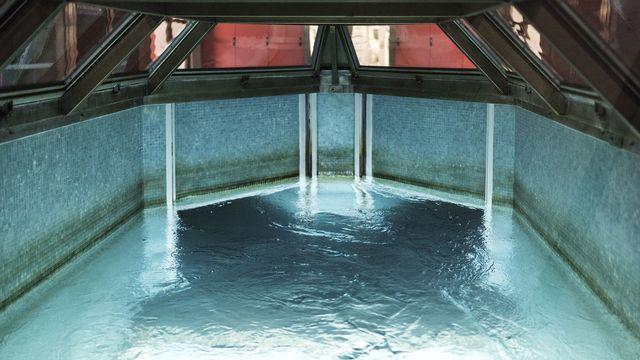 Une usine de traitement des eaux de la région zurichoise. [Christian Beutler - Keystone]
