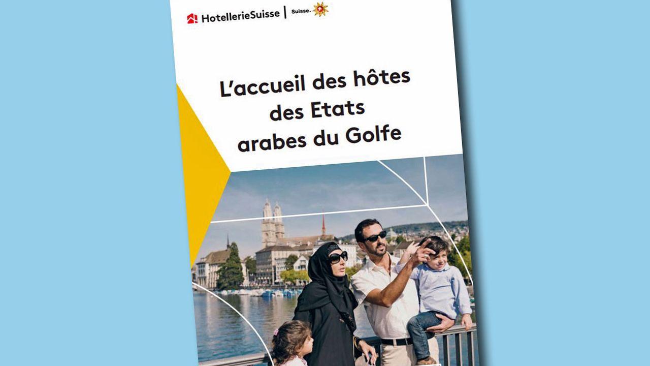 La brochure vise à assurer le meilleur accueil aux hôtes du Golfe en Suisse. [DR]