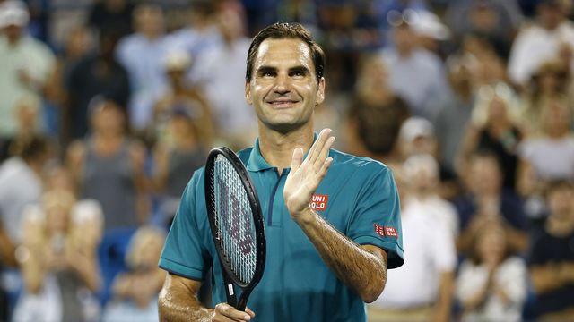 Auteur de 9 aces, Federer n'a perdu que 11 points au service. [Sam Greene - Keystone]
