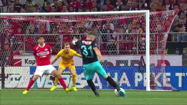 3e tour retour, Spartak Moscou - FC Thoune (2-1): Thoune est éliminé de la Ligue Europa [RTS]