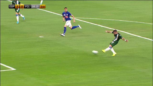 3e tour retour, Espanyol Barcelone - FC Lucerne  (3-0): la marche était trop haute pour Lucerne [RTS]