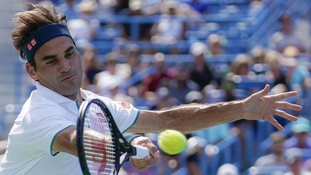 Federer ne gardera pas un souvenir indélébile de son séjour dans l'Ohio. [John Minchillo - Keystone]