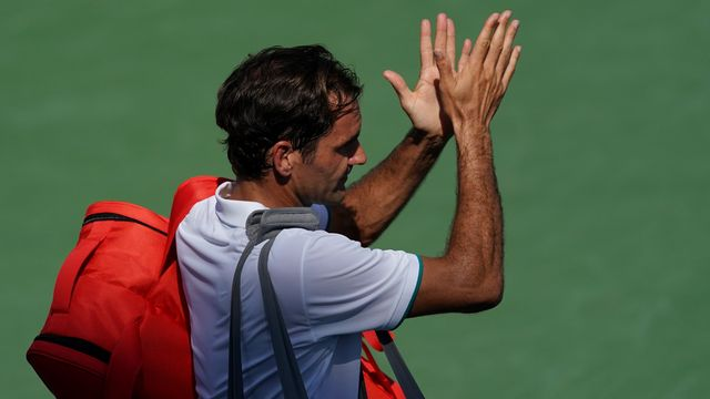 Malgré la défaite, Federer se montre confiant pour la 4e levée du Grand Chelem de la saison. [USA Today Sports - Reuters]