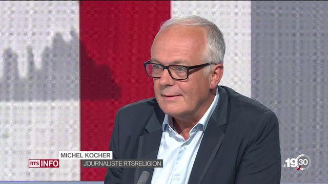 Mariage homosexuel et Église protestante : l'analyse de Michel Kocher, journaliste RTS Religion. [RTS]