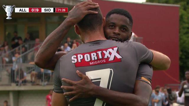 1-32, FC Allschwil - FC Sion (1-10): les meilleurs instants de la victoire sédunoise [RTS]