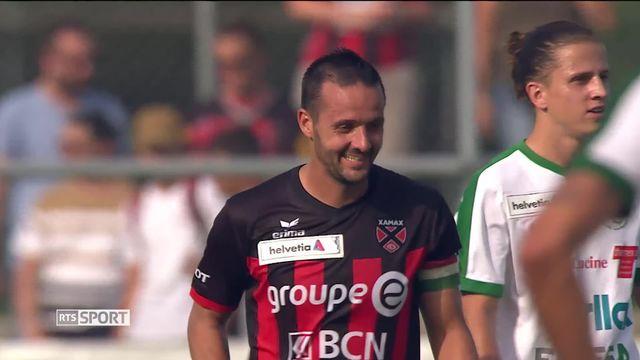 Football, Coupe de Suisse: Yverdon - Xamax (1-2) [RTS]