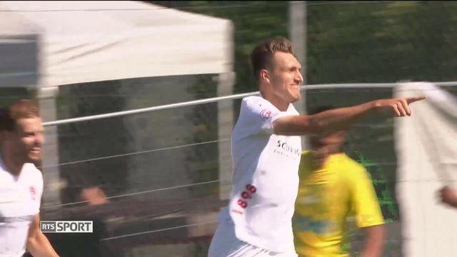 Football, Coupe de Suisse: Bernex - - Thoune (0-2) [RTS]