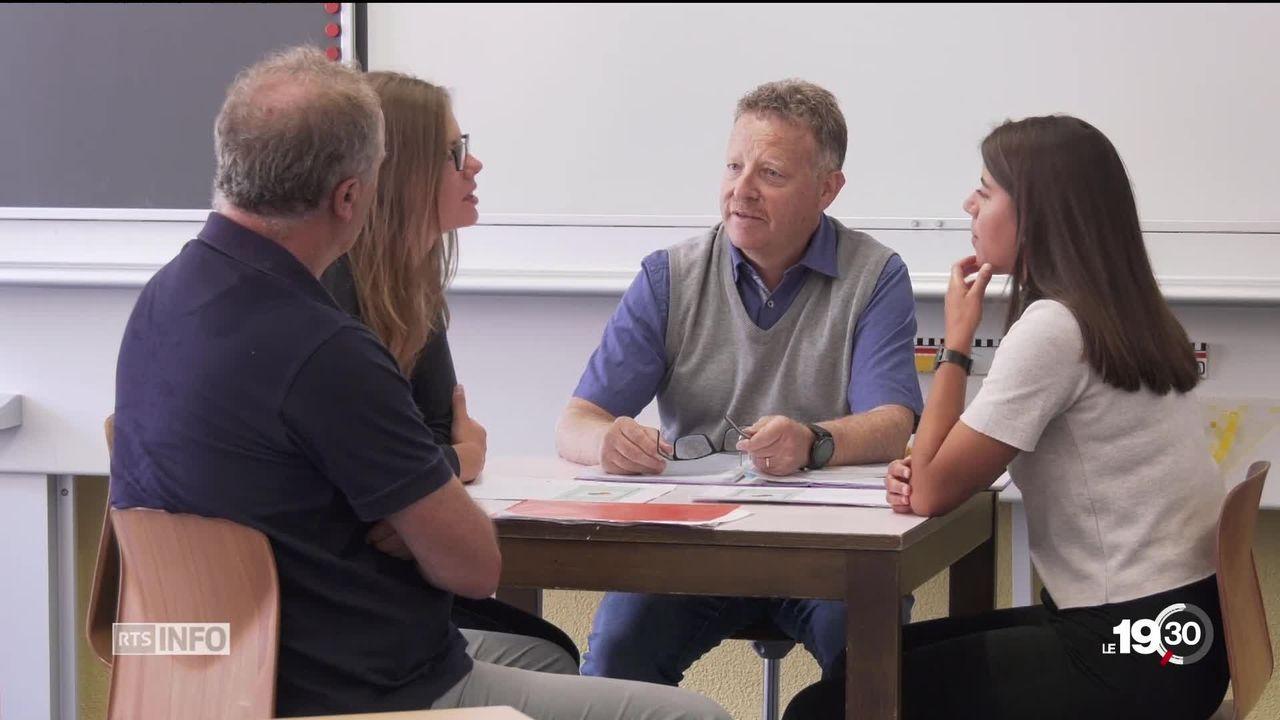 Pour palier au manque d'enseignants, le Valais fait appel à des étudiants [RTS]