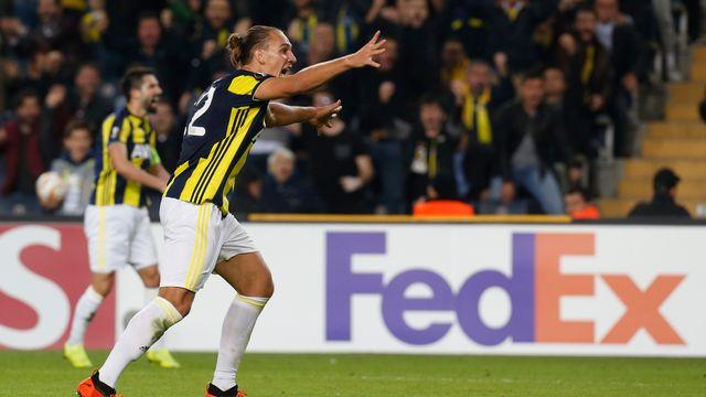 Michael Frey sous le maillot de Fenerbahçe. Une vieille histoire, désormais. [Lefteris Pitarakis - Keystone]