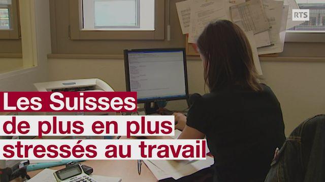 Les Suisses de plus en plus stressés au travail [RTS]