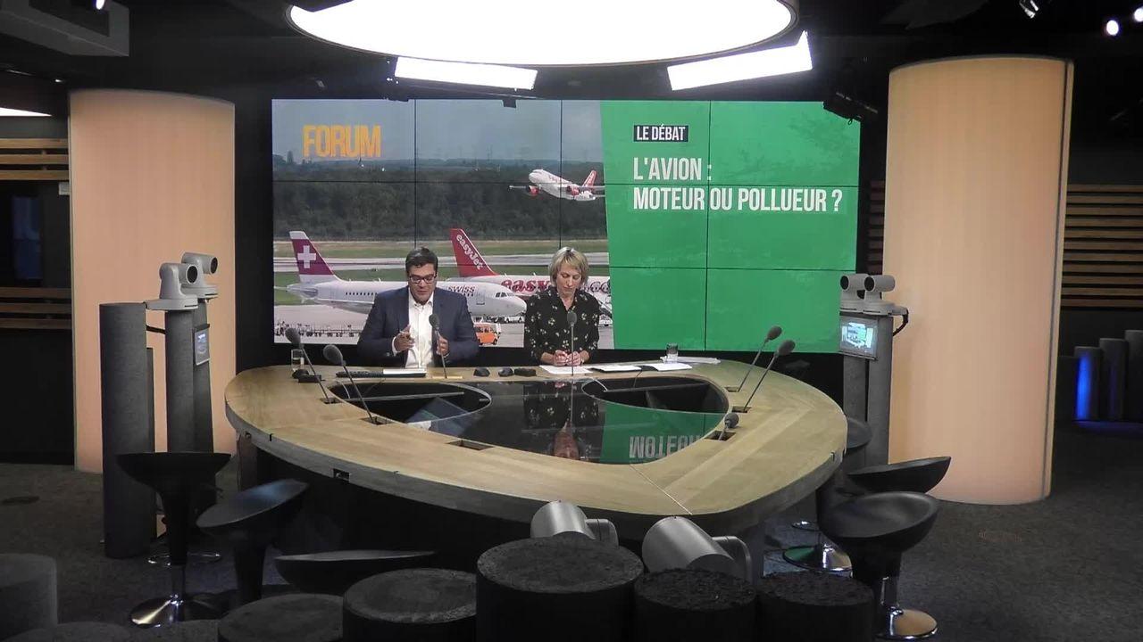 Le débat - L'avion: moteur ou pollueur? [RTS]