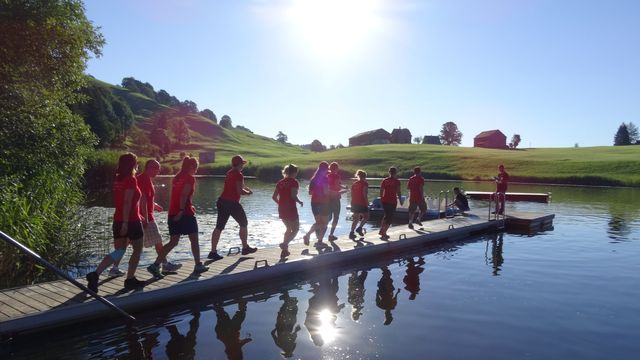 La course d'orientation SchweizExpress, en 2016. [SchweizExpress - flickr]
