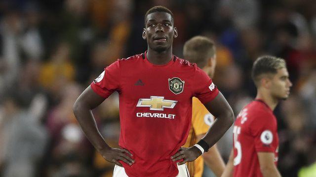Paul Pogba a été victime d'insultes sur les réseaux sociaux après un penalty manqué. [Nick Potts - PA via AP/Keystone]