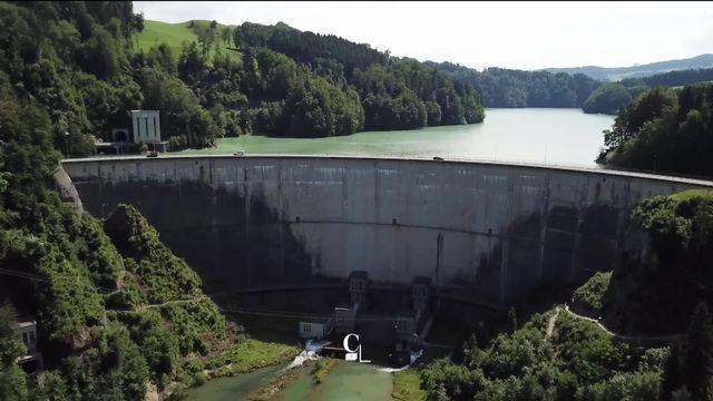 L'histoire des barrages et la formation des lacs de la Gruyère et de Schiffenen [RTS]