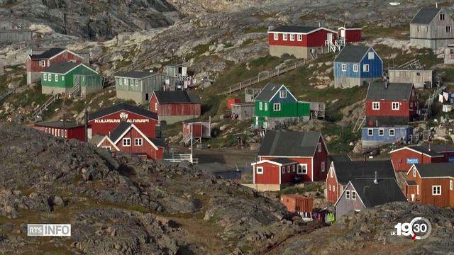 Donald Trump avait annoncé son désir d'acheter le Groenland avant d'y renoncer, provoquant un incident diplomatique. [RTS]