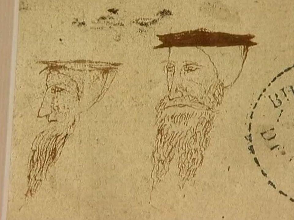 Caricature du réformateur Jean Calvin. [RTS]