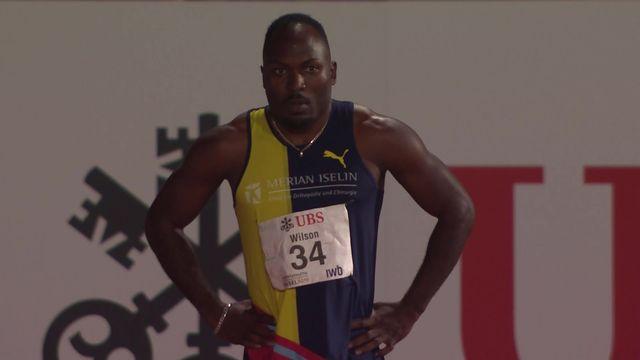 Bâle (SUI), 100m messieurs: Alex Wilson remporte le titre national en 10.25 [RTS]