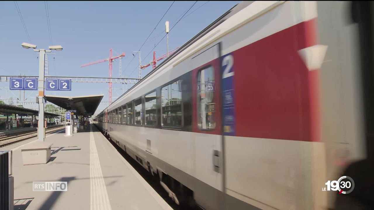 Nouvel incident en gare de Morges. Déjà sous pression, les CFF ont ouvert une enquête. [RTS]