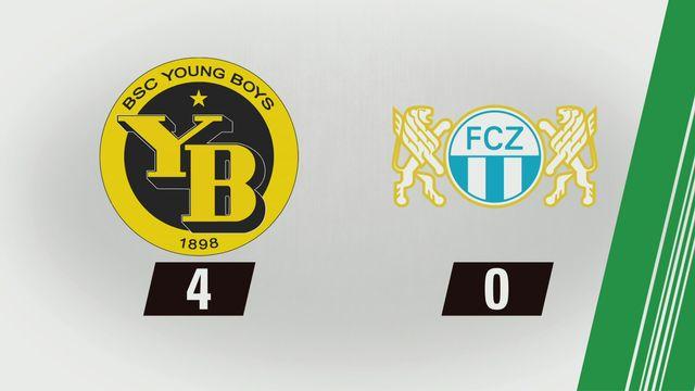 Tous les buts: YB - Zurich (4-0) [RTS]