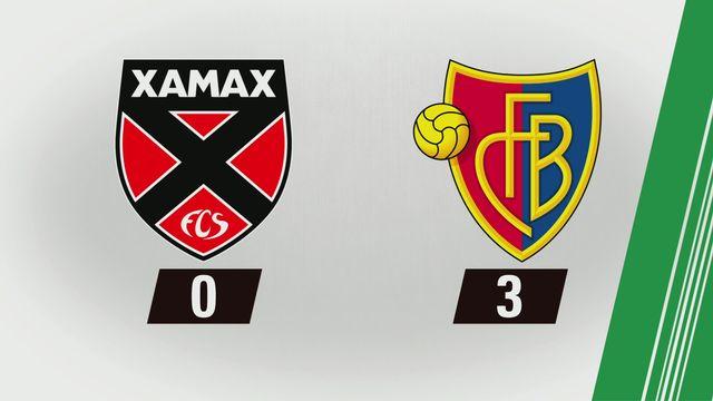 Tous les buts: Xamax - Bâle (0-3) [RTS]