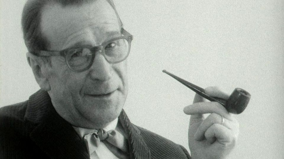 Georges Simenon en 1964. [RTS]
