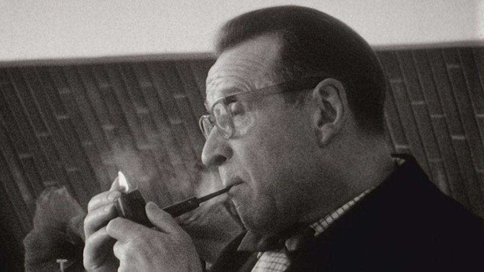 Georges Simenon en 1967. [RTS]