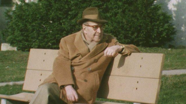 Georges Simenon en 1978. [RTS]