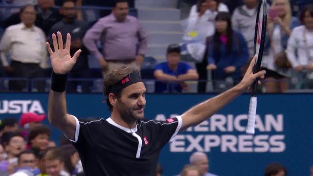 Federer - Nagal (4-6, 6-1, 6-2, 64): Roger Federer se qualifie pour le deuxième tour [RTS]