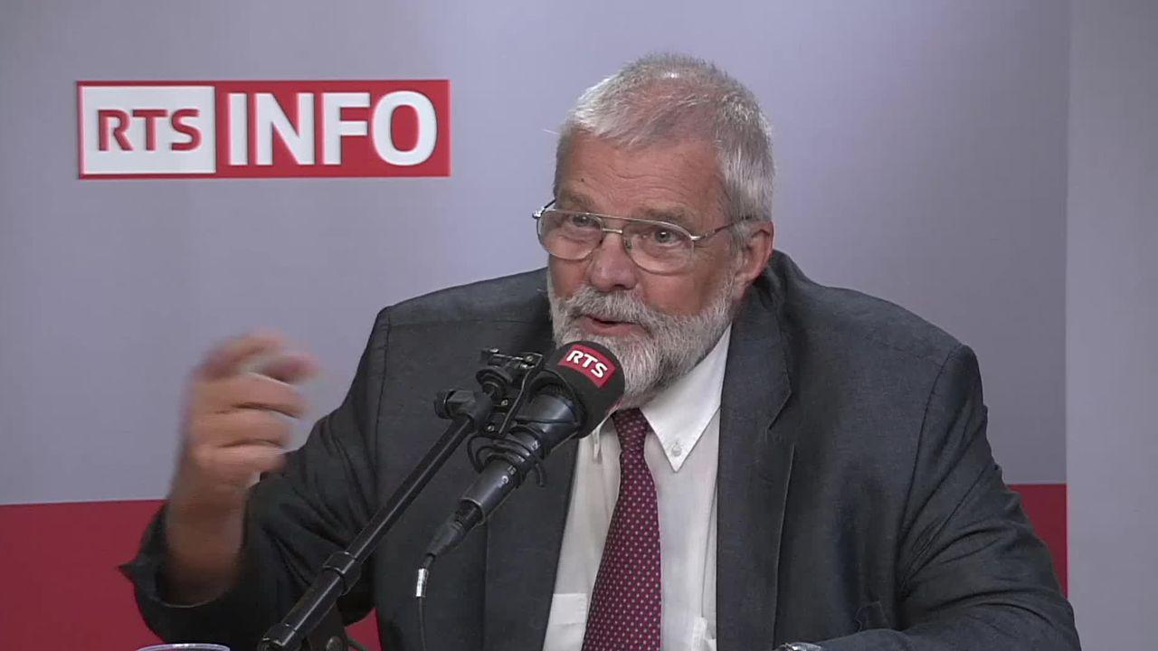 L'invité de la Matinale (vidéo) - Paul Dembinski, directeur de l'Observatoire de la finance [RTS]