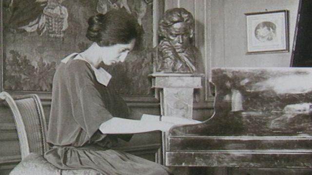 Portrait de la pianiste Clara Haskil [RTS]