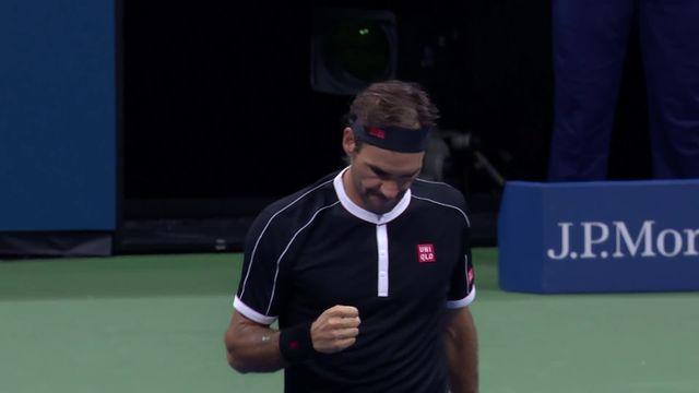 Le meilleur de la victoire de Federer [RTS]