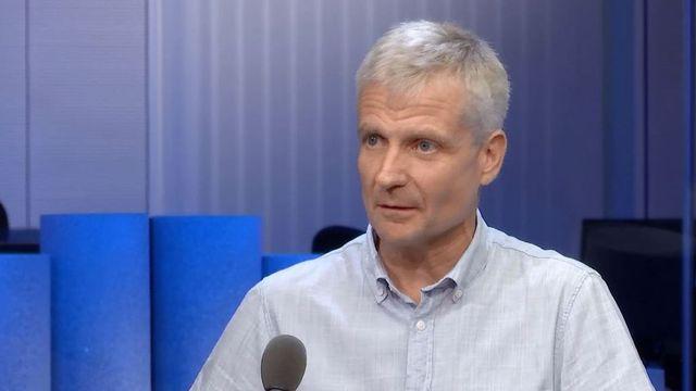 Denis Badan, enseignant et créateur du projet Radio Bus. [RTS]