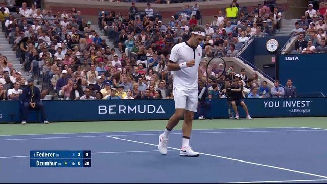 Le point du jour: grosse bataille entre Federer et Dzumhur [RTS]