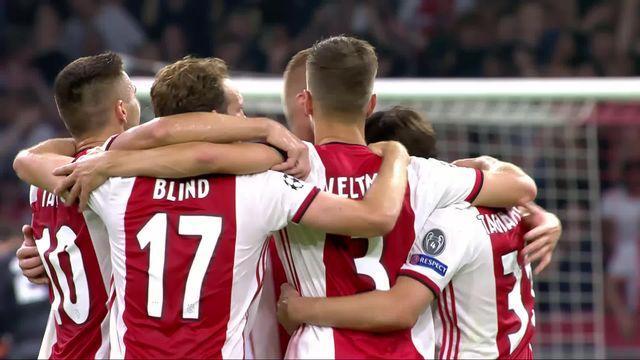 Barrage retour, Ajax Amsterdam – Apoel Nicosie (2-0): l'Ajax qualifié pour la phase de groupe [RTS]