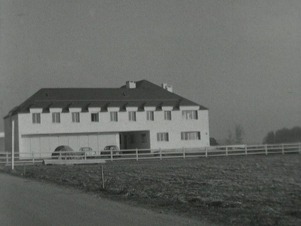 La maison de Georges Simenon à Epalinges en 1964. [RTS]