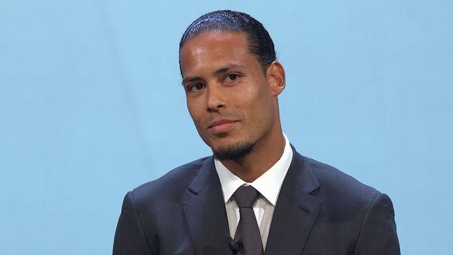 Joueur de l'année: Virgil Van Dijk (NED) élu joueur de l'année [RTS]