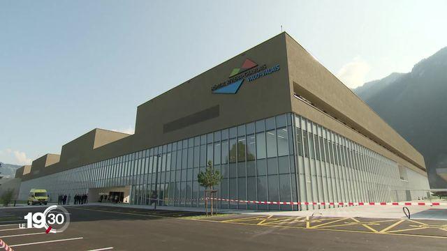L'Hôpital Riviera-Chablais a été inauguré à Rennaz. [RTS]