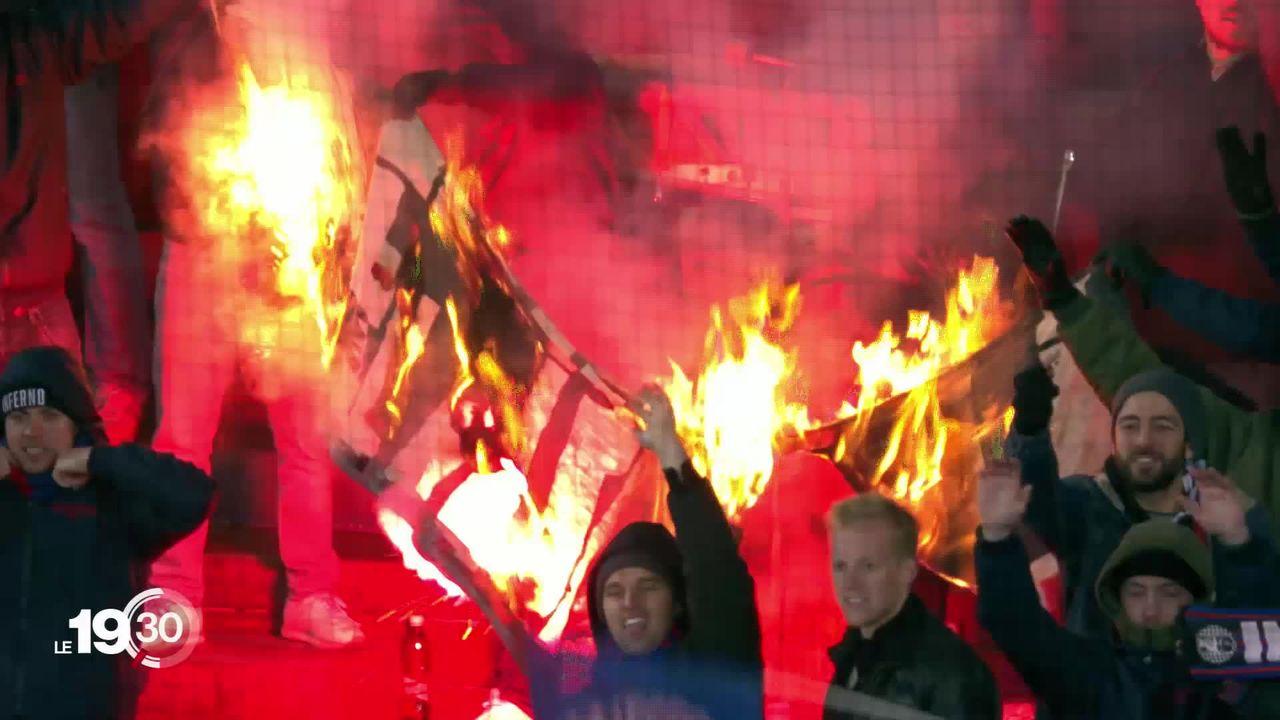 Les pouvoirs publics veulent en finir avec les hooligans dans le foot. [RTS]