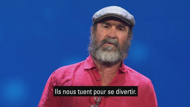 Le nouveau discours légendaire d'Eric Cantona [RTS]