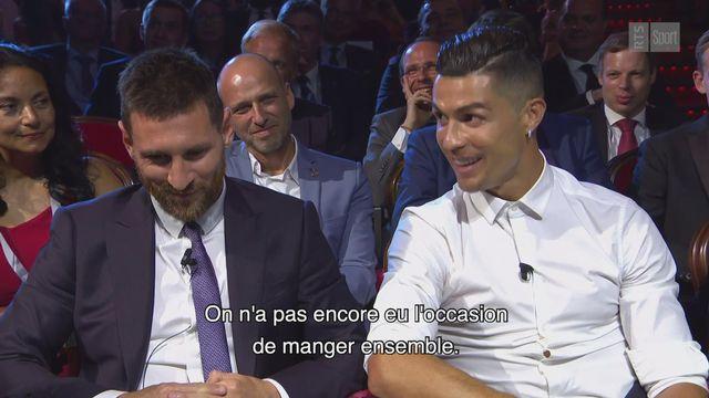 L'échange insolite entre Messi et Ronaldo [RTS]