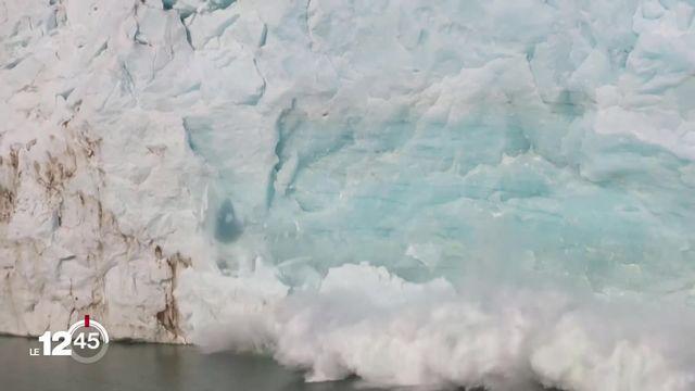 Un projet de rapport des experts de l'ONU sur les effets du réchauffement climatique a été rendu public [RTS]