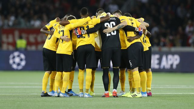 Les Bernois auront fort à faire pour passer la phase de groupes de l'Europa League. [Peter Klaunzer - Keystone]