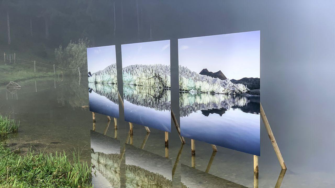 La 5e édition du festival Alt. + 1000 s'expose aussi au lac des Taillères. [Patrick Guerne - Studio444 ]
