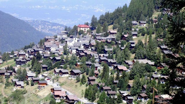 Le village de Saint-Luc en Valais. [DR - Wikipédia]