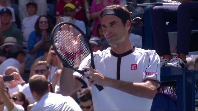 3e tour, R.Federer (SUI) – D.Evans (GBR) (6-2, 6-2, 6-1): Federer corrige Evans et passe en 8es [RTS]
