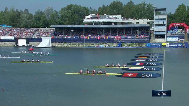 Linz (AUT), finale B messieurs : le quatuor suisse termine 2e et se qualifie pour Tokyo [RTS]